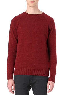 BARBOUR Staple crew-neck jumper