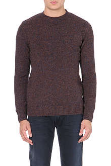 BARBOUR Bolter knitted jumper