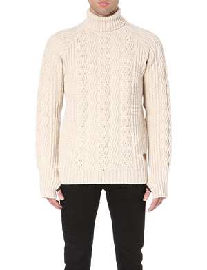 BARBOUR Sub Deck chunky-knit jumper