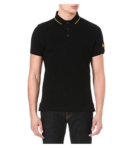 BARBOUR International polo shirt (Black