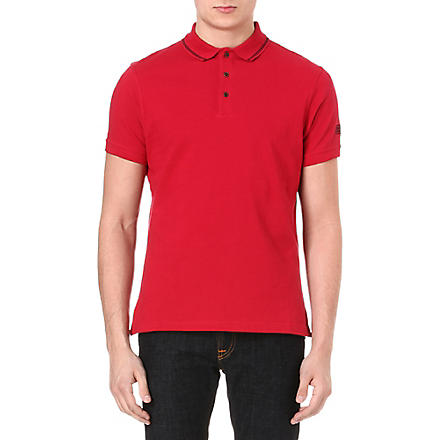 BARBOUR International polo shirt (Red