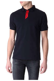 BARBOUR Contrast polo shirt