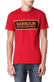 BARBOUR International Lozenge t-shirt