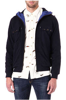 BARBOUR Hooded field jacket