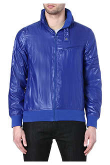 BARBOUR Stealth zip-through bomber jacket