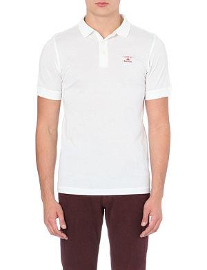 BARBOUR Heritage cotton polo shirt