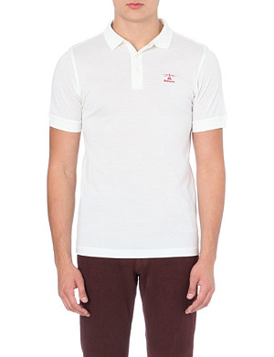 BARBOUR Heritage cotton polo shirt