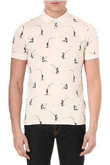 BARBOUR Fly Fishing polo shirt