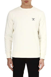 BARBOUR Logo jersey sweatshirt