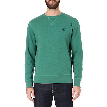 BARBOUR Logo sweatshirt (Kingfisher