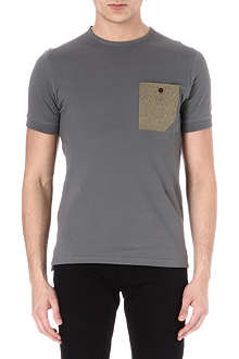 BARBOUR Contrast pocket t-shirt