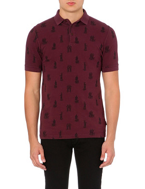 BARBOUR Game hunt polo shirt