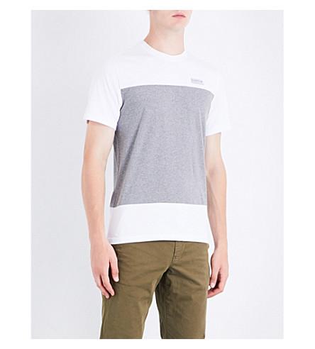 BARBOUR League cotton-jersey T-shirt (White