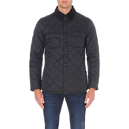 BARBOUR Akenside quilted jacket (Navy