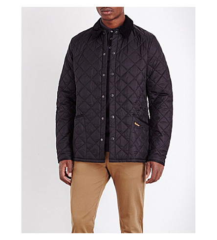 BARBOUR Liddlesdale quilted shell jacket (Black