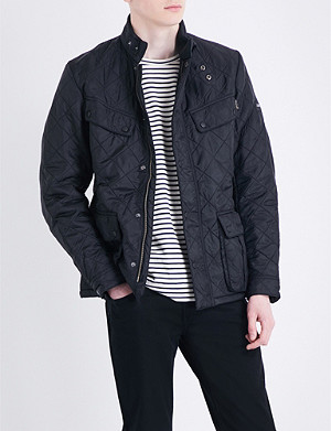 BARBOUR Ariel quilted shell jacket