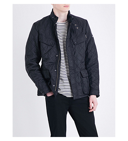 BARBOUR B.Intl Ariel quilted shell jacket (Black