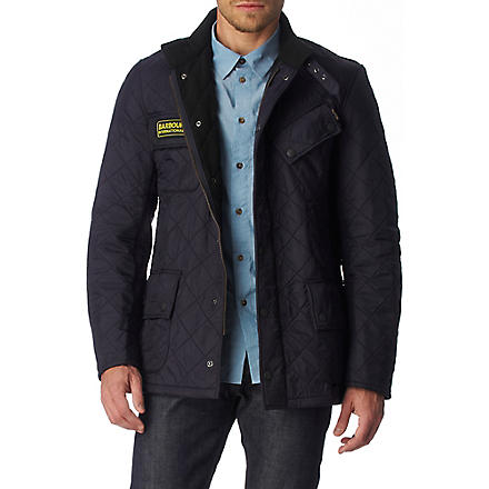 BARBOUR International Polarquilt jacket (Navy