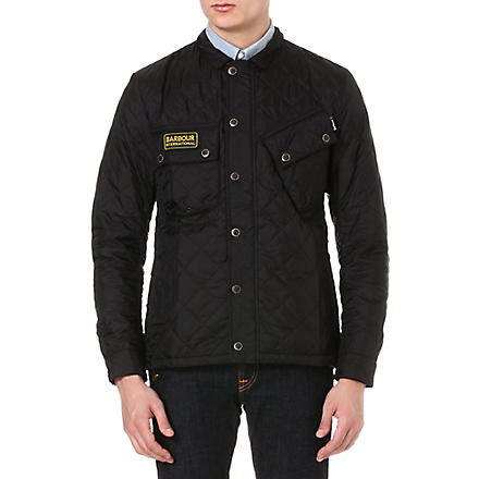 BARBOUR Tankerville quilted jacket (Black