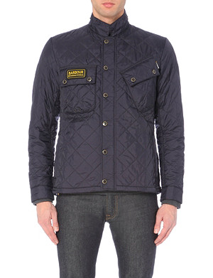 BARBOUR Tankerville quilted shell jacket