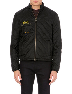 BARBOUR Bowmore quilted short jacket