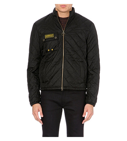 BARBOUR Bowmore quilted short jacket (Black