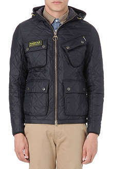 BARBOUR Paxton International quilted jacket