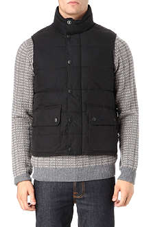 BARBOUR Bothwell baffle quilted gilet
