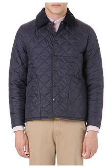 BARBOUR Slim-fit quilted jacket