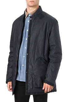 BARBOUR Torpedo waxed cotton coat