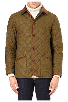 BARBOUR Quilted wool jacket