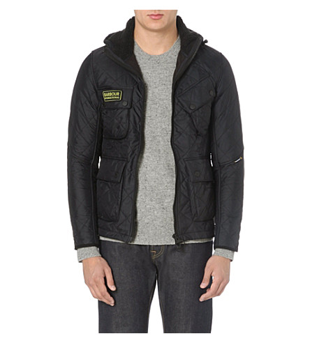 BARBOUR Paxton quilted jacket (Black