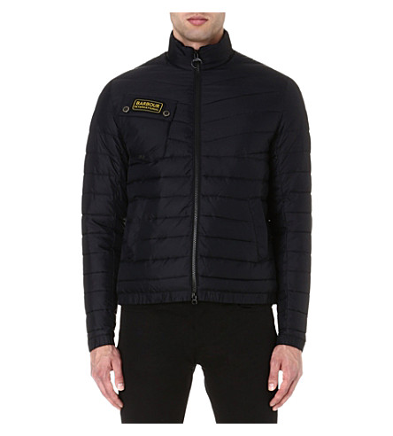 BARBOUR Chain International quilted jacket (Black