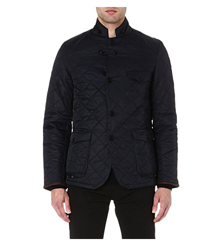 BARBOUR Beacon sports quilted jacket (Navy