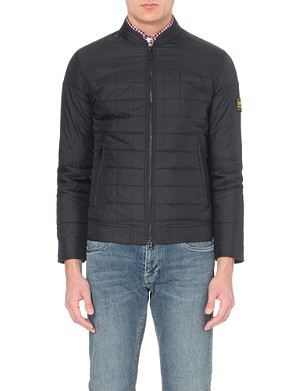 BARBOUR Burnout quilted shell jacket