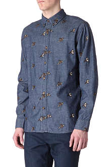 BARBOUR Embroidered pheasant shirt