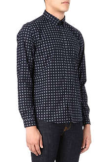 BARBOUR Oxbow geometric print shirt