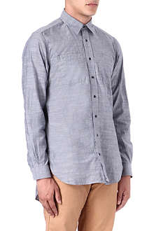 BARBOUR Slim-fit chambray shirt