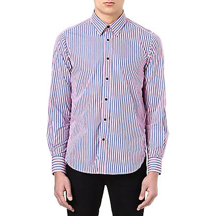 BARBOUR Striped cotton shirt (Candy