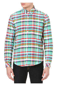 BARBOUR One pocket checked shirt