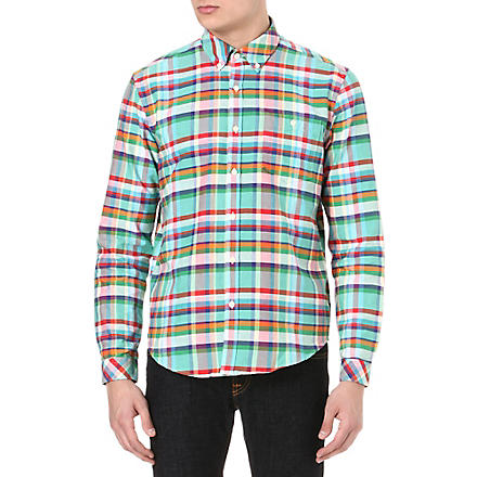 BARBOUR One pocket checked shirt (Reed/multi