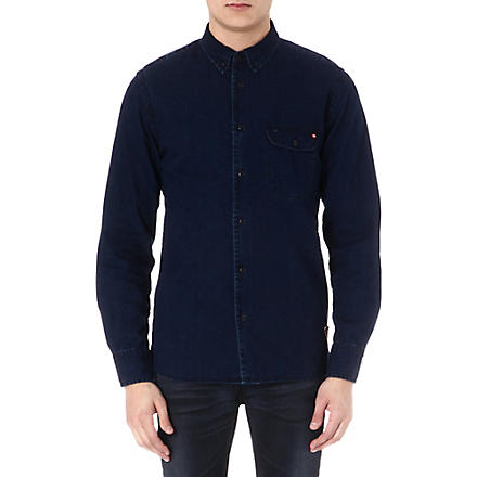 BARBOUR Heritage denim shirt (Indigo