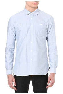 BARBOUR Embroidered dots shirt