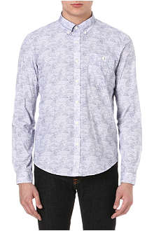 BARBOUR All-over fish shirt