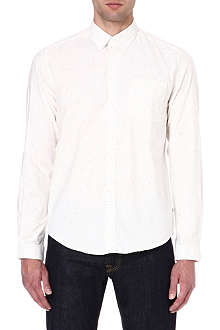 BARBOUR Flecked Oxford shirt