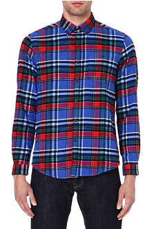 BARBOUR Checked flannel shirt