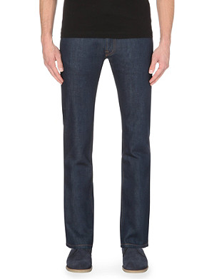 BARBOUR Slim-fit tapered jeans