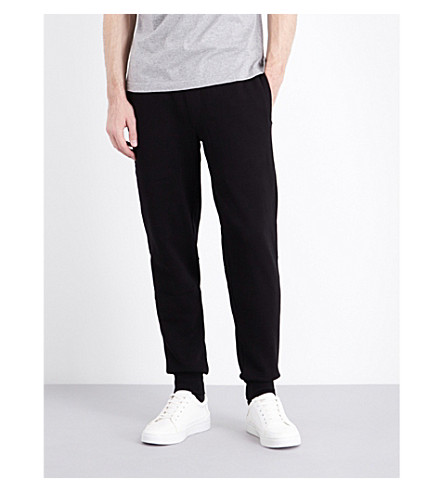 BARBOUR Tread jersey jogging bottoms (Black