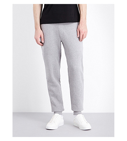 BARBOUR Tread jersey track pants (Storm+marl