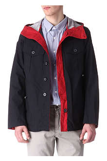BARBOUR To Ki To bi-colour jacket